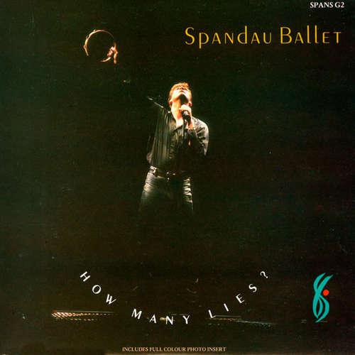 Cover Spandau Ballet - How Many Lies? (7, Single, gat) Schallplatten Ankauf