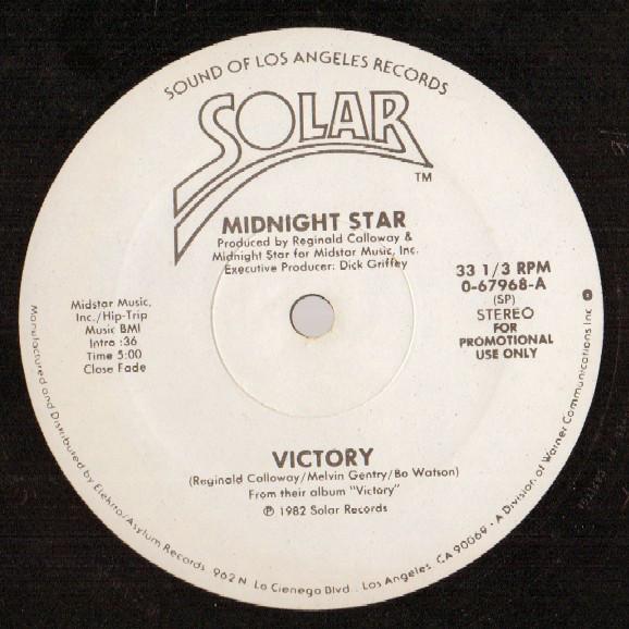 Cover Midnight Star - Victory (12, Promo) Schallplatten Ankauf