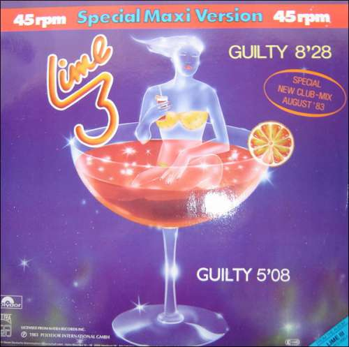 Bild Lime 3* - Guilty (Special New Club-Mix) (12, Maxi) Schallplatten Ankauf