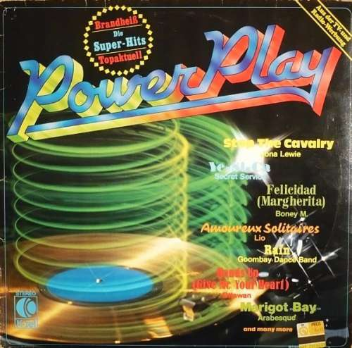 Cover Various - Power Play (LP, Comp) Schallplatten Ankauf