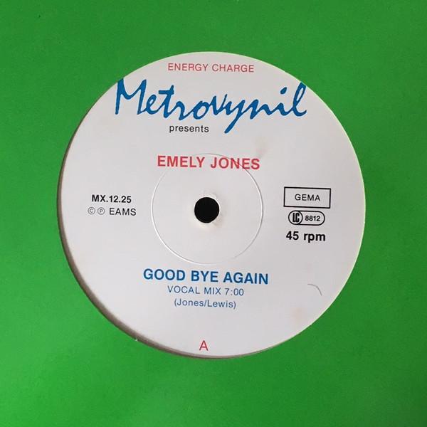 Bild Emely Jones - Good Bye Again (12, Maxi) Schallplatten Ankauf