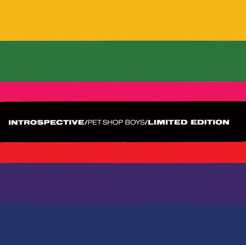 Cover Pet Shop Boys - Introspective (Album, Ltd, 45  + 12, Single + 12, Single + 12,) Schallplatten Ankauf