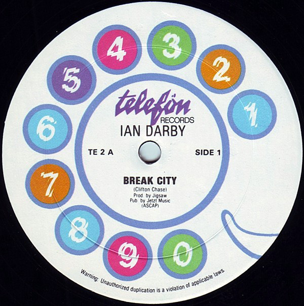 Bild Ian Darby - Break City / Taking The Waterfront By Force (12) Schallplatten Ankauf