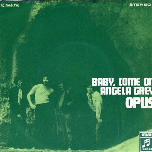 Bild Opus (8) - Baby, Come On / Angela Grey (7, Single) Schallplatten Ankauf