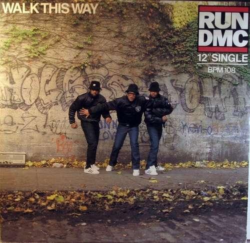 Cover zu Run DMC* - Walk This Way (12, Maxi) Schallplatten Ankauf