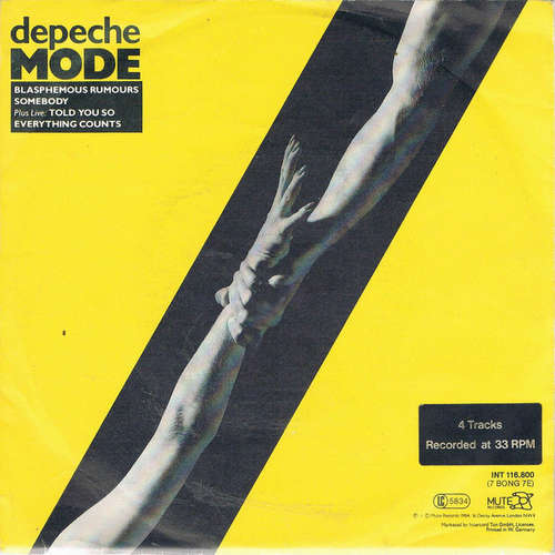 Cover Depeche Mode - Blasphemous Rumours (7, EP) Schallplatten Ankauf
