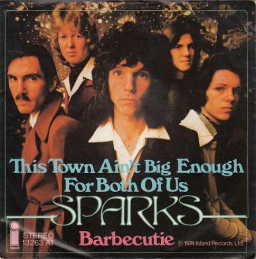 Bild Sparks - This Town Ain't Big Enough For Both Of Us (7, Single) Schallplatten Ankauf