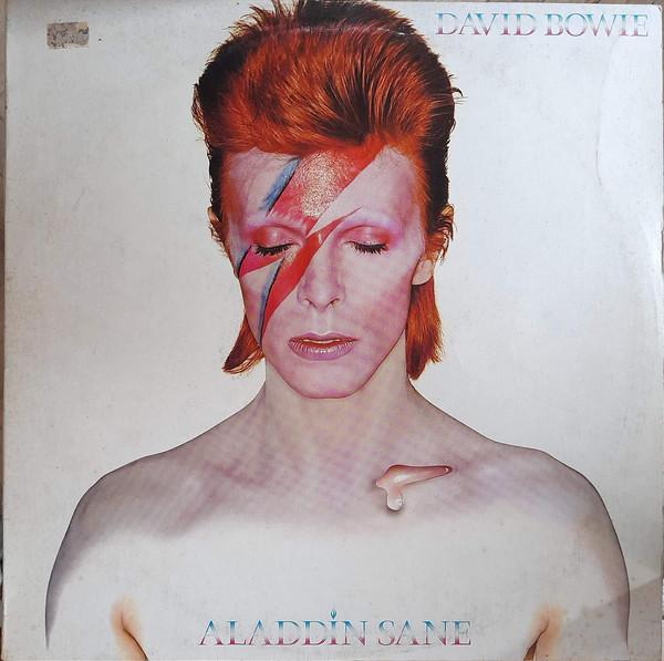 Cover David Bowie - Aladdin Sane (LP, Album, RE) Schallplatten Ankauf