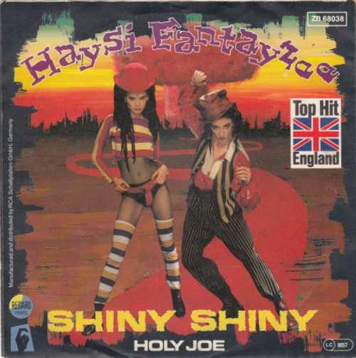Cover Haysi Fantayzee - Shiny Shiny (7, Single) Schallplatten Ankauf