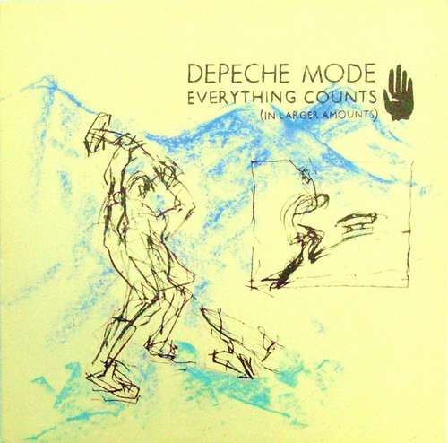 Cover Depeche Mode - Everything Counts (In Larger Amounts) (12, Single) Schallplatten Ankauf