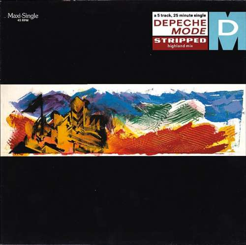 Cover Depeche Mode - Stripped (Highland Mix)  (12, Maxi) Schallplatten Ankauf