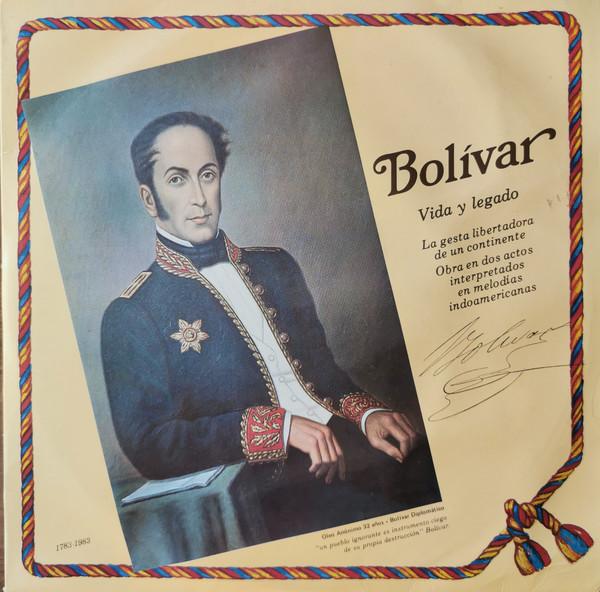 Cover Antonio Del Villar - Bolívar: vida y legado (LP, Album, Etch, 3 L) Schallplatten Ankauf