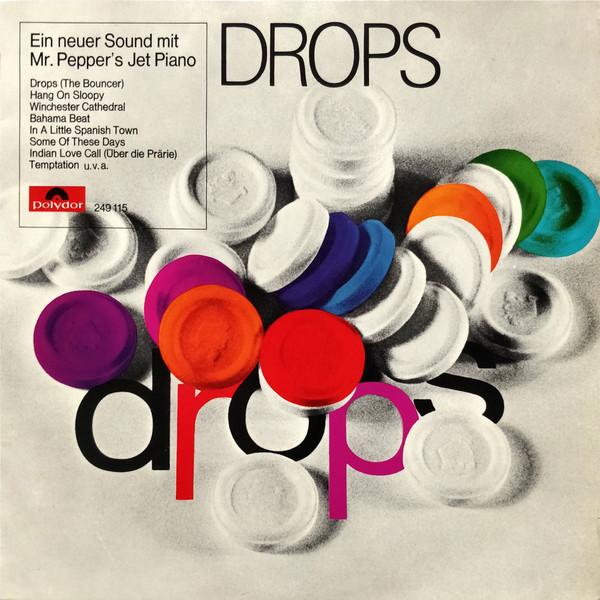 Cover zu Mr. Pepper's Jet Piano - Drops (LP) Schallplatten Ankauf