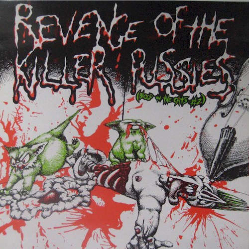 Cover Various - Revenge Of The Killer Pussies (Blood On The Cats #2) (LP, Comp) Schallplatten Ankauf