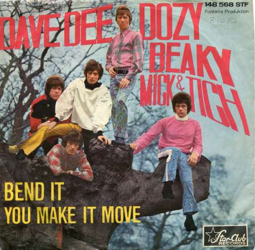 Cover Dave Dee, Dozy, Beaky, Mick & Tich - Bend It / You Make It Move (7, Single) Schallplatten Ankauf