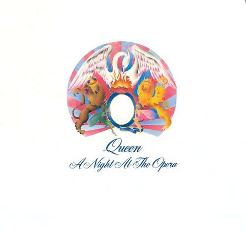 Cover zu Queen - A Night At The Opera (LP, Album, RP, Gat) Schallplatten Ankauf