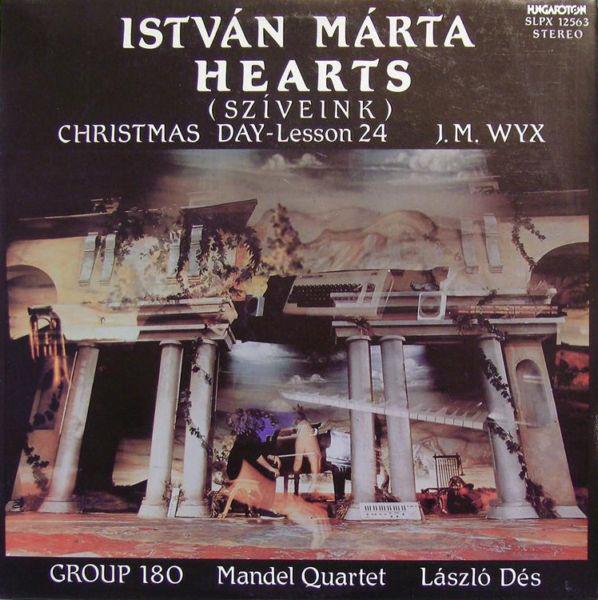 Cover István Márta* - Hearts (LP, Album) Schallplatten Ankauf