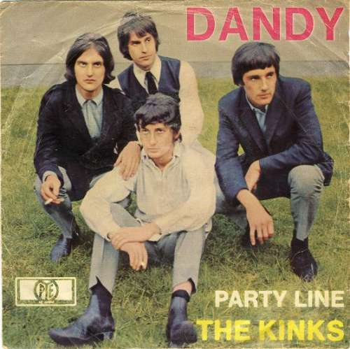 Cover The Kinks - Dandy (7, Single) Schallplatten Ankauf