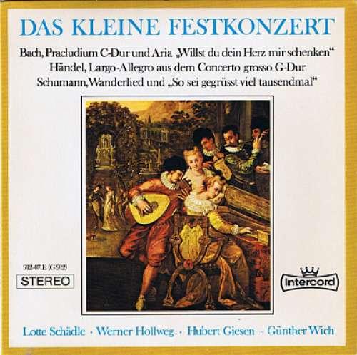 Bild Johann Sebastian Bach, Georg Friedrich Händel, Robert Schumann - Das Kleine Festkonzert (7, EP) Schallplatten Ankauf