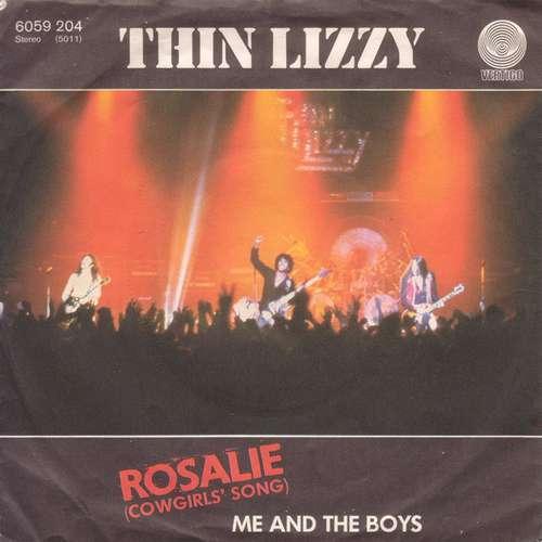 Bild Thin Lizzy - Rosalie (Cowgirls' Song) / Me And The Boys (7) Schallplatten Ankauf