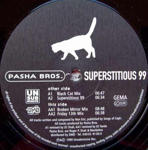 Bild Pasha Bros. - Superstitious 99 (12) Schallplatten Ankauf