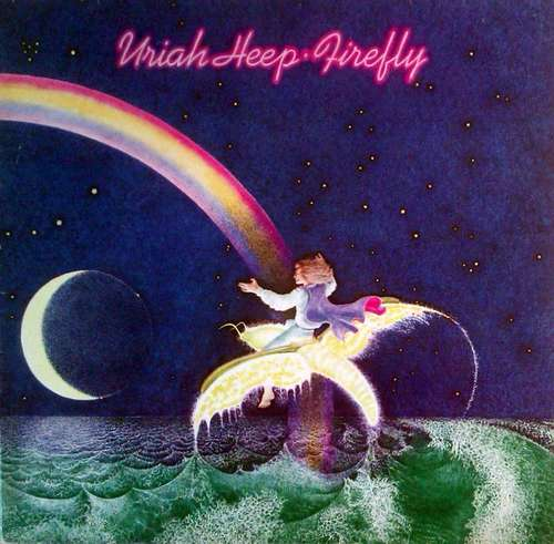 Cover Uriah Heep - Firefly (LP, Album, Gat) Schallplatten Ankauf