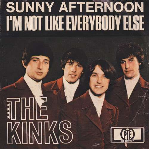 Cover The Kinks - Sunny Afternoon / I'm Not Like Everybody Else (7, Single) Schallplatten Ankauf