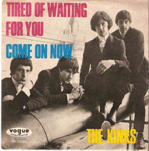 Cover The Kinks - Tired Of Waiting For You / Come On Now (7, Single) Schallplatten Ankauf