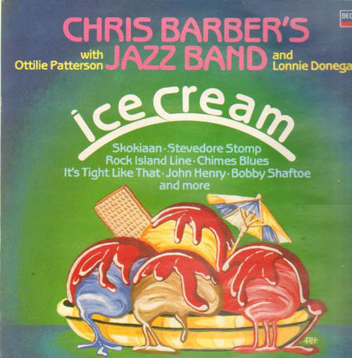 Bild Chris Barber's Jazz Band - Ice Cream (LP, Comp) Schallplatten Ankauf