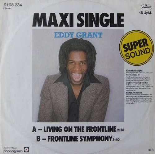 Cover Eddy Grant - Living On The Frontline (12, Maxi) Schallplatten Ankauf