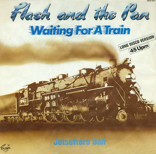 Cover Flash And The Pan* - Waiting For A Train (Long Disco Version) (12) Schallplatten Ankauf