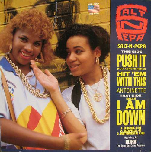 Cover Salt-N-Pepa* / Antoinette - Push It / Hit 'Em With This / I Am Down (12, Maxi, P/Mixed) Schallplatten Ankauf