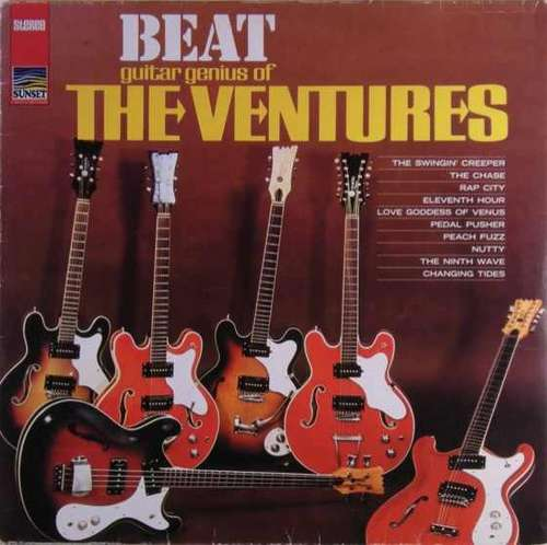 Cover The Ventures - Beat Guitar Genius Of The Ventures (LP, Comp, RE) Schallplatten Ankauf