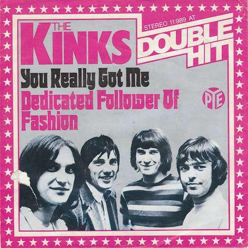 Cover The Kinks - You Really Got Me / Dedicated Follower Of Fashion (7, Single) Schallplatten Ankauf