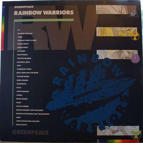Cover Various - Greenpeace Rainbow Warriors (2xLP, Comp, Gat) Schallplatten Ankauf