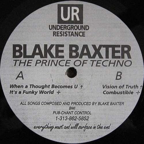 Cover The Prince Of Techno Schallplatten Ankauf