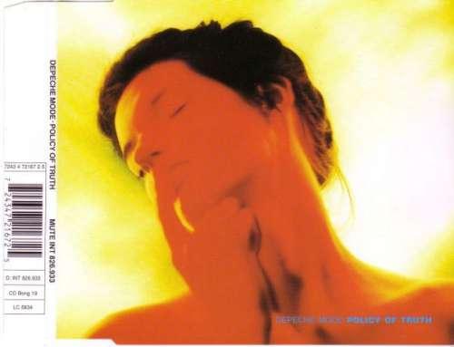 Cover Depeche Mode - Policy Of Truth (CD, Single, RE) Schallplatten Ankauf