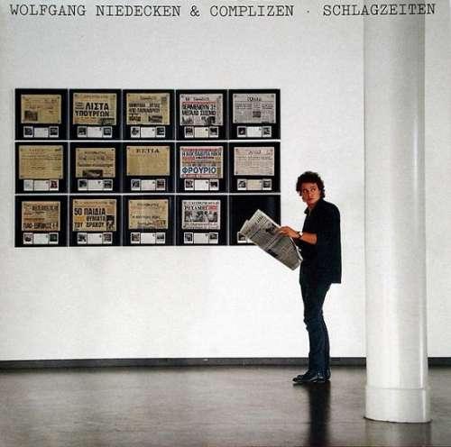 Cover Wolfgang Niedecken & Complizen - Schlagzeiten (LP, Album) Schallplatten Ankauf