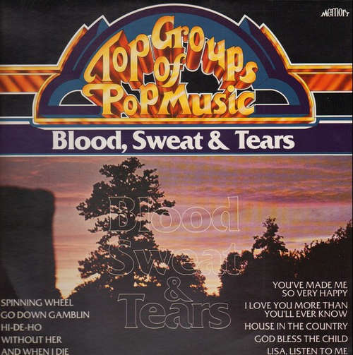 Bild Blood, Sweat & Tears* - Top Groups Of Pop Music (LP, Comp) Schallplatten Ankauf