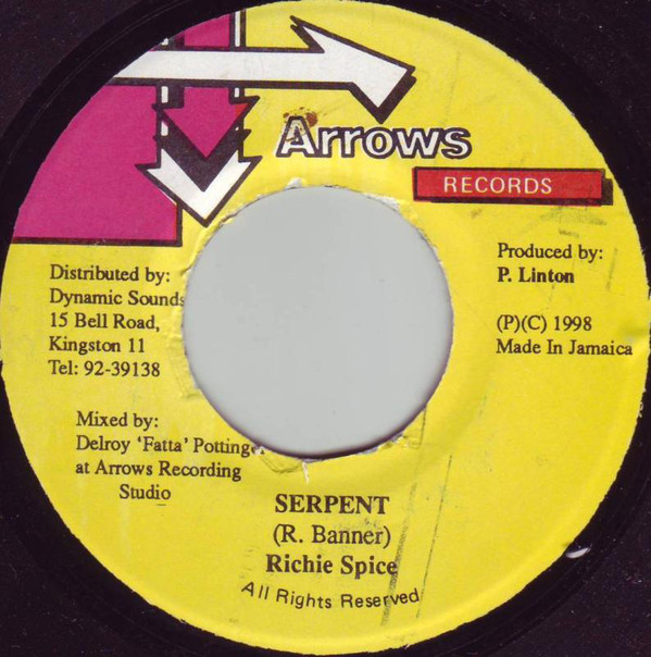 Bild Richie Spice - Serpent (7) Schallplatten Ankauf