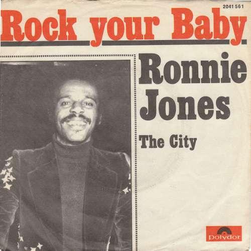 Bild Ronnie Jones - Rock Your Baby (7, Single) Schallplatten Ankauf