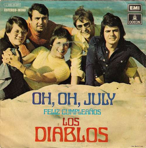 Bild Los Diablos (2) - Oh, Oh, July (7, Single) Schallplatten Ankauf