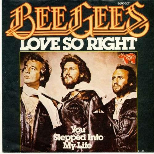 Bild Bee Gees - Love So Right (7, Single) Schallplatten Ankauf