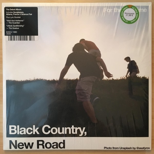 Cover zu Black Country, New Road - For The First Time (LP, Album) Schallplatten Ankauf