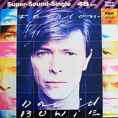 Cover David Bowie - Fashion (12, Single) Schallplatten Ankauf