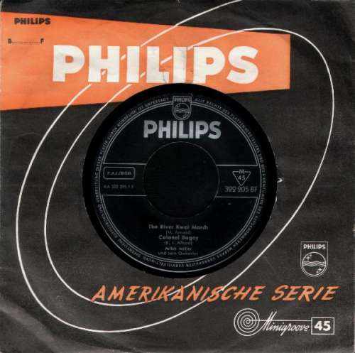 Cover Mitch Miller Und Sein Orchester* - The River Kwai March / Colonel Bogey / Hey Little Baby (7, Single, Mono) Schallplatten Ankauf