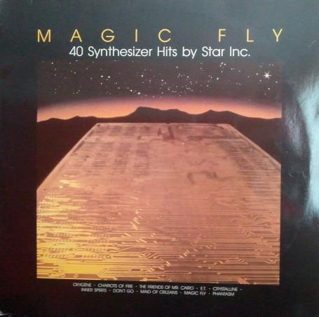 Cover zu Star Inc. - Magic Fly (40 Synthesizer Hits By Star Inc.) (2xLP) Schallplatten Ankauf