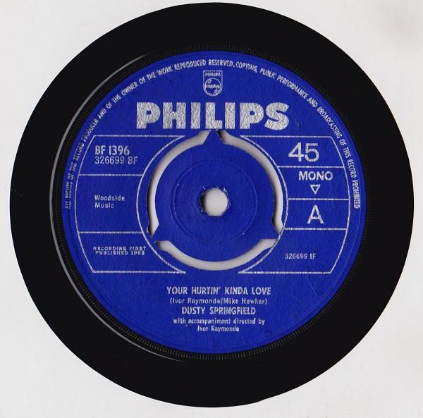Bild Dusty Springfield - Your Hurtin' Kinda Love (7, Single, Mono) Schallplatten Ankauf