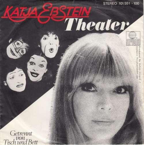 Cover Katja Ebstein - Theater (7, Single) Schallplatten Ankauf