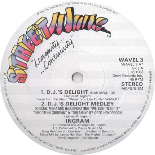 Bild Ingram - D.J.'s Delight (12) Schallplatten Ankauf